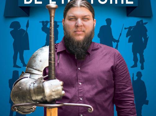 Benjamin Brillaud (Nota Bene) met un pied dans le domaine littéraire avec «Les pires batailles de l'Histoire»,