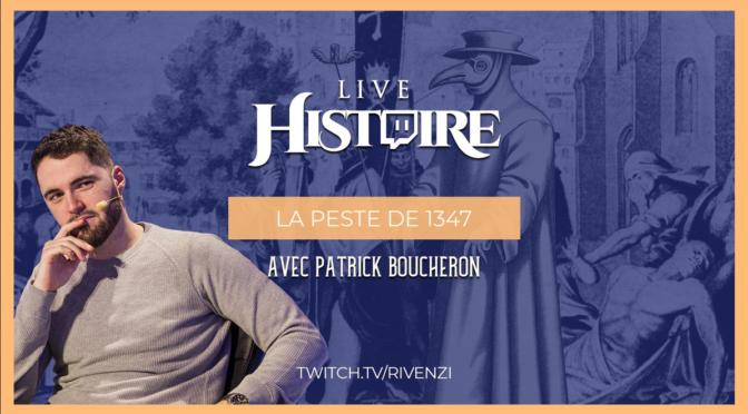 Rivenzi, un passeur d'histoire sur Twitch